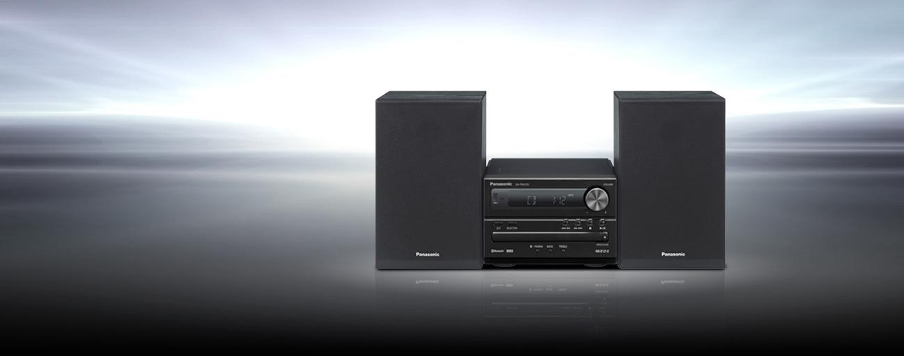 Mikro-system Panasonic SC-PM250EG-K