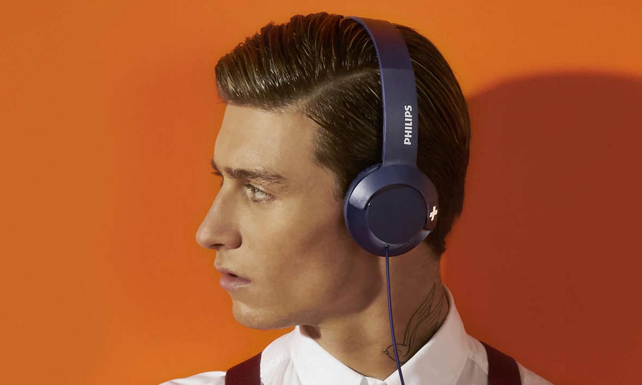 Dopasowanie słuchawek Philips SHL3075BL