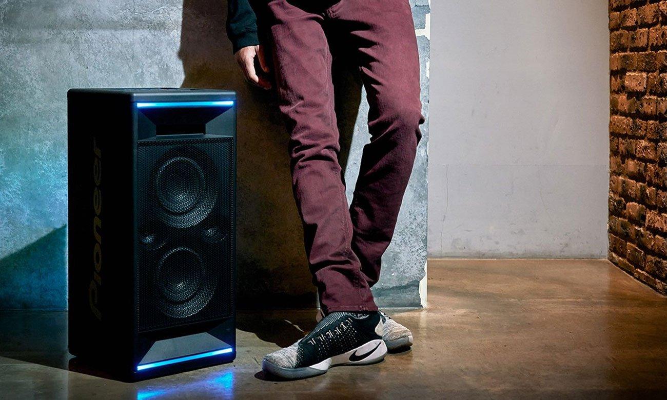 Imprezowy głośnik z efektami świetlnymi Power Audio Pioneer CLUB 5