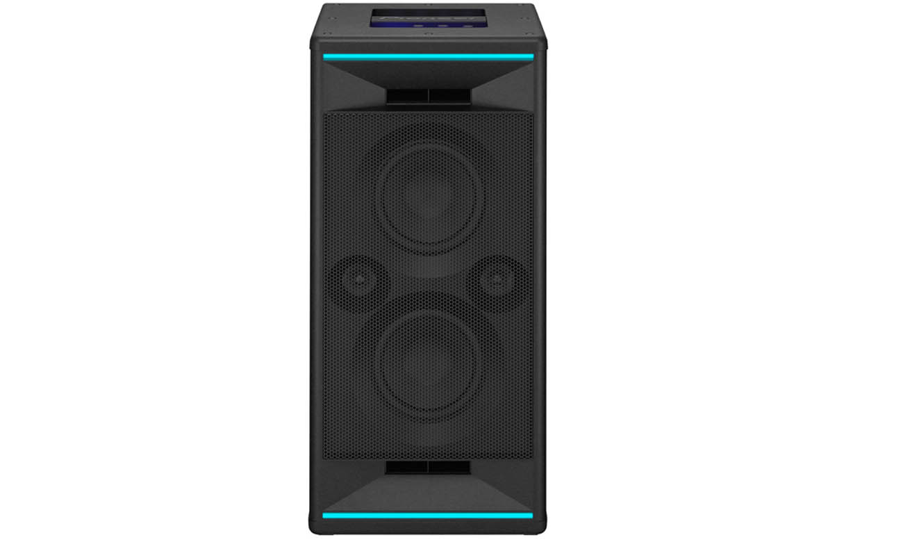 Imprezowy głośnik z efektami świetlnymi Power Audio Pioneer CLUB 7