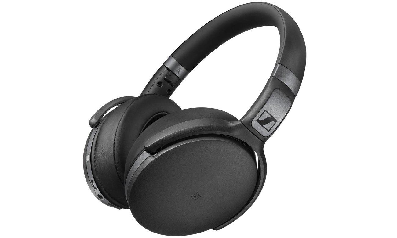 Nauszne słuchawki bluetooth Sennheiser HD 4.40 BT czarne