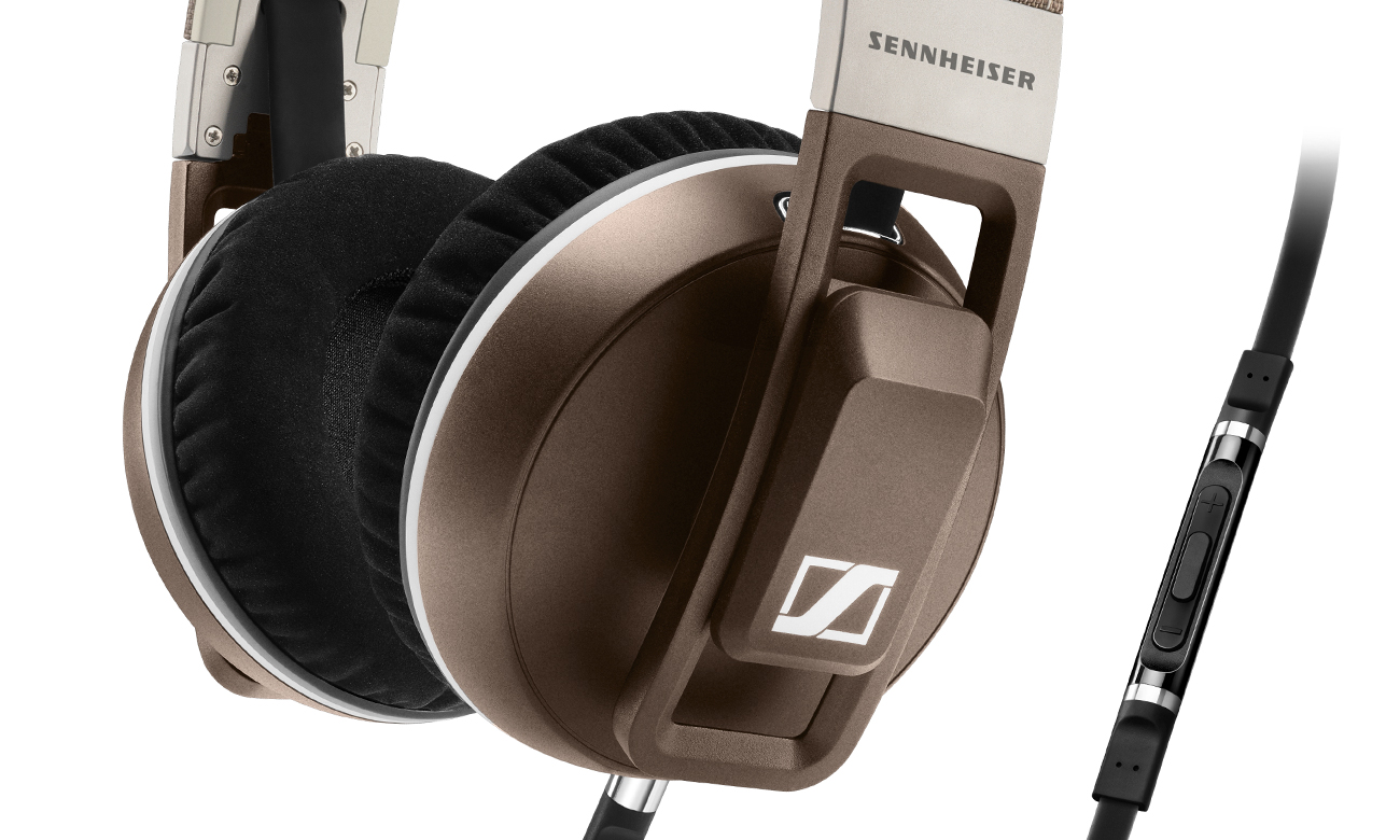 Pilot z mikrofonem w słuchawkach Sennheiser Urbanite XL