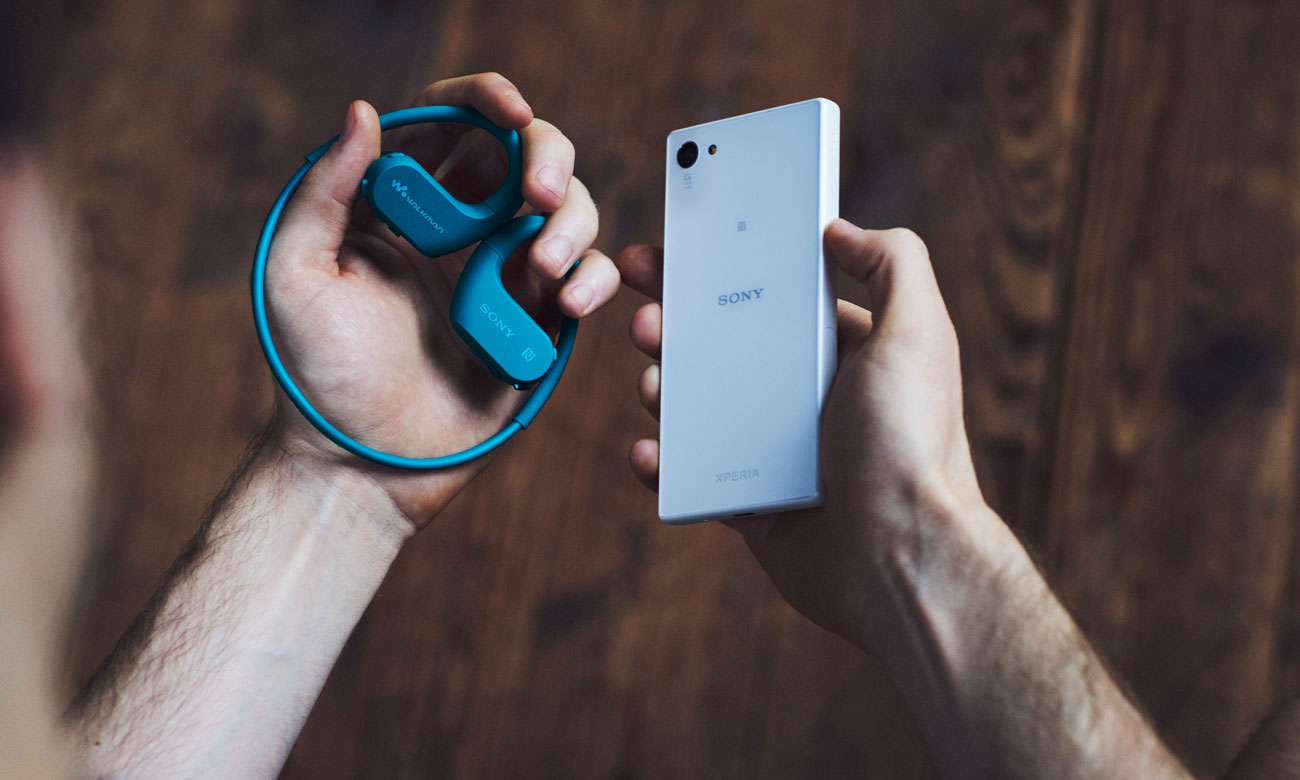 Przenośny odtwarzacz audio z Bluetooth Sony Walkman NW-WS623
