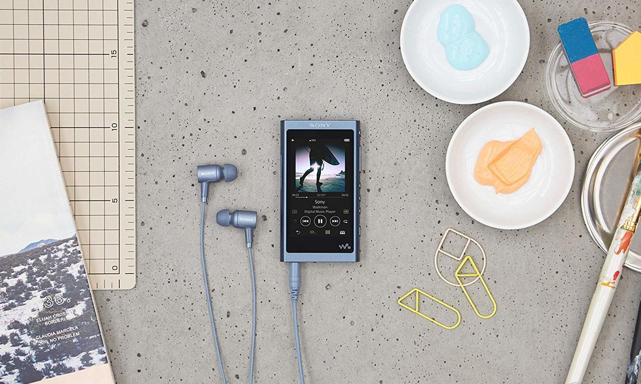 Obsługiwane formaty przez odtwarzacz Sony Walkman NW-A55