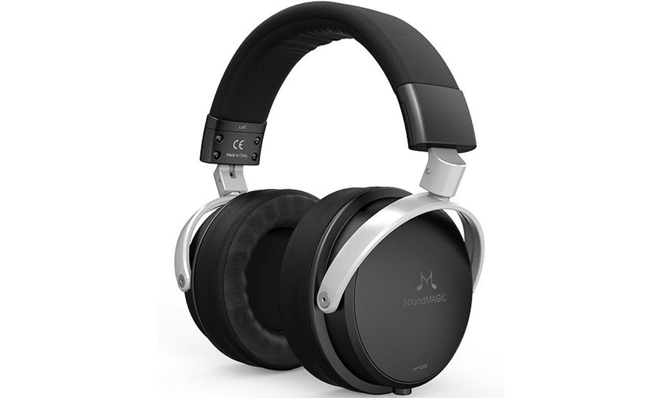 Wokółuszne słuchawki przewodowe SoundMagic HP1000