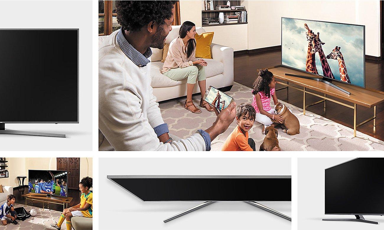 Upscaling w telewizorze Samsung UE49MU6402