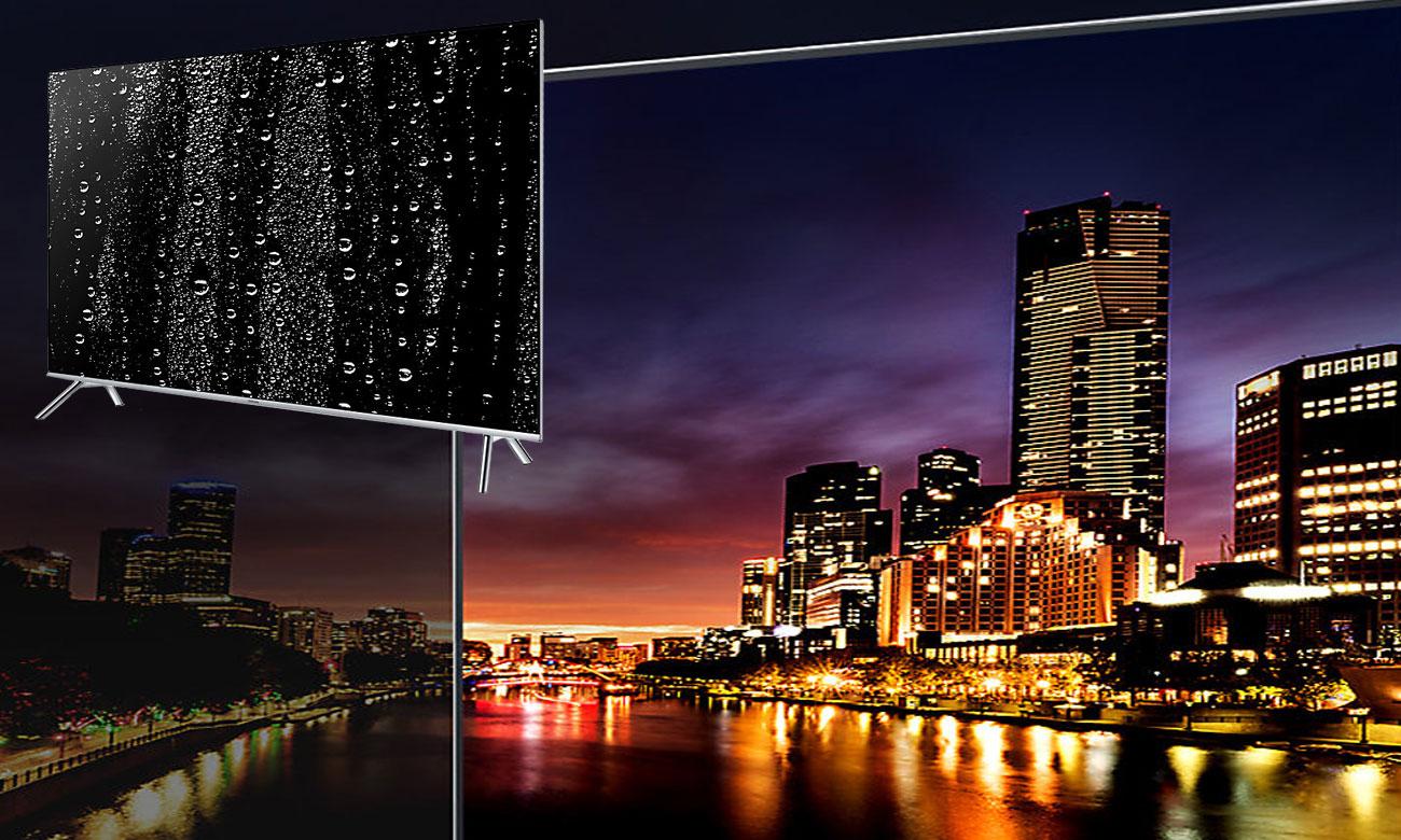 Perfekcja ciemnych kolorów w telewizorze Samsung UE55MU7002