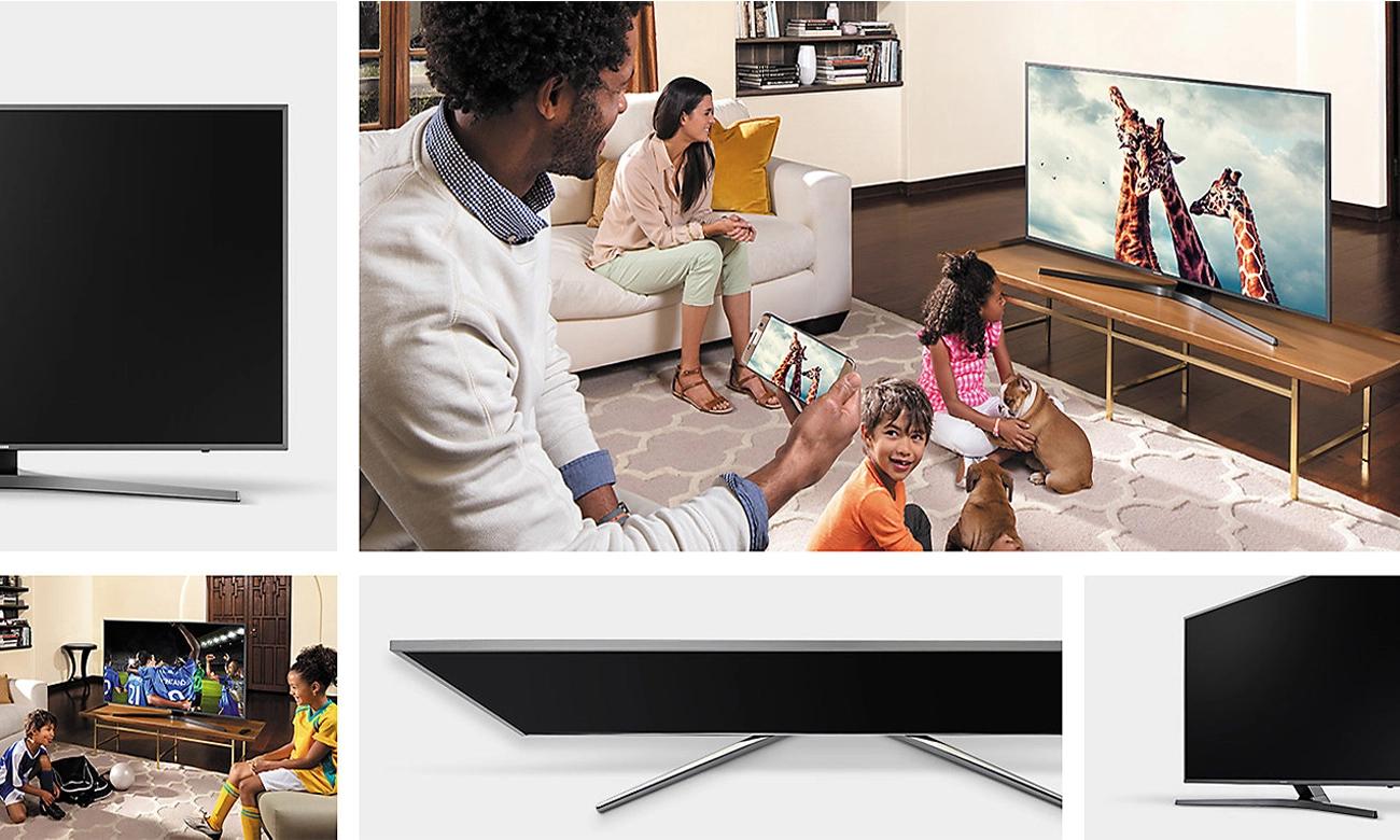 Upscaling w telewizorze Samsung UE65MU6402