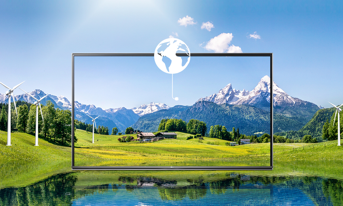 Energooszczędny telewizor LG 43UH603V