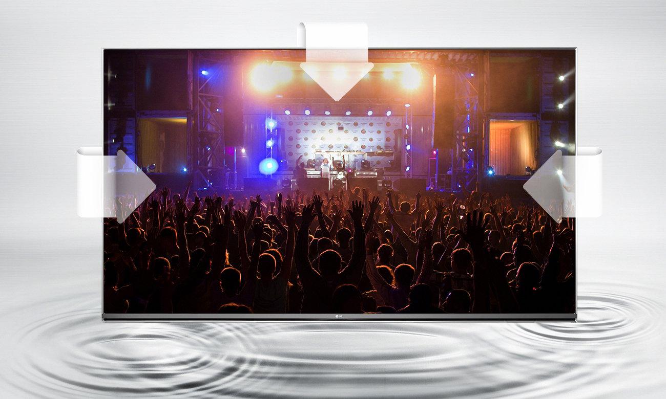 Dźwięk ULTRA Surround w telewizorze LG 49UH603V