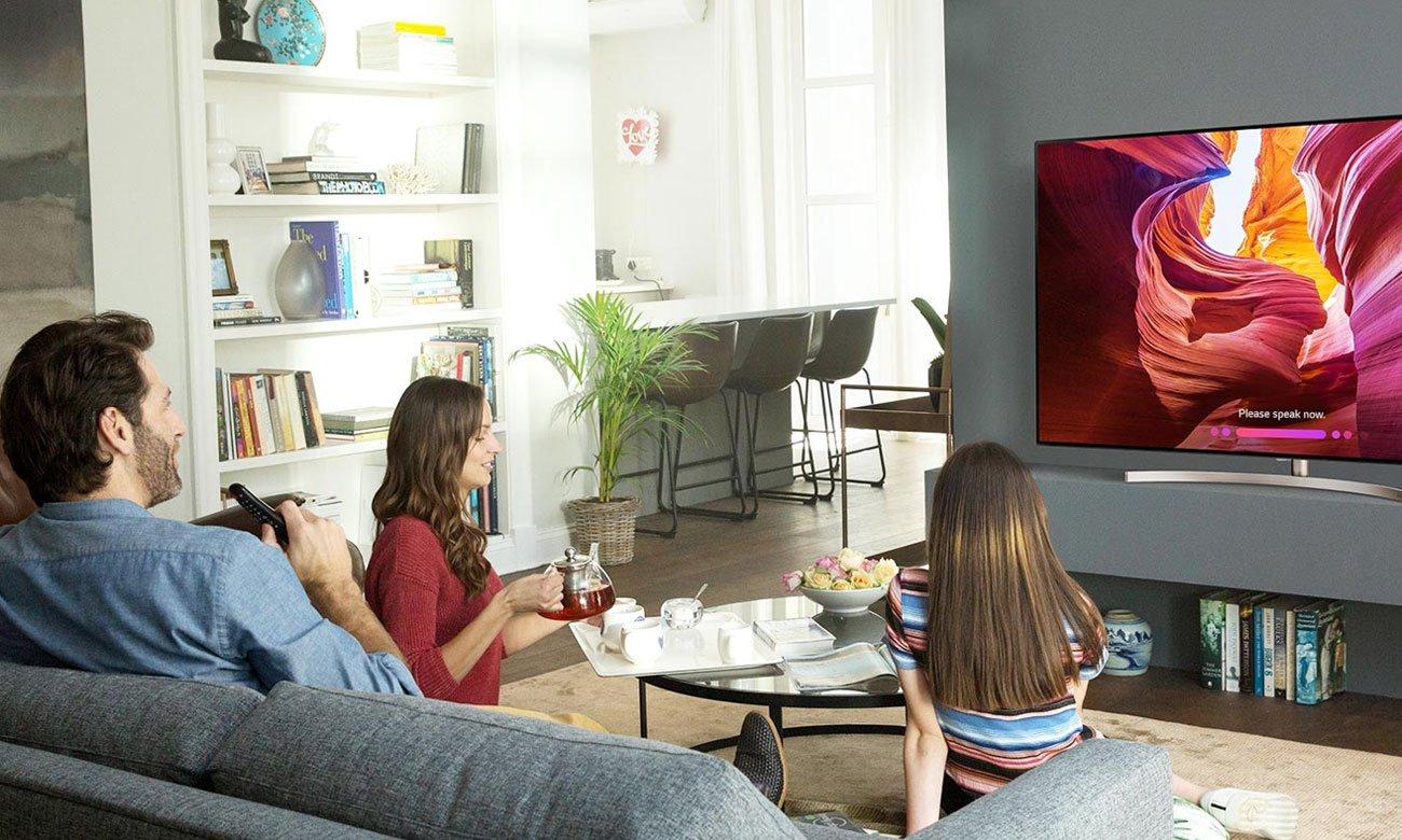 AI w telewizorze LG 55SK9500