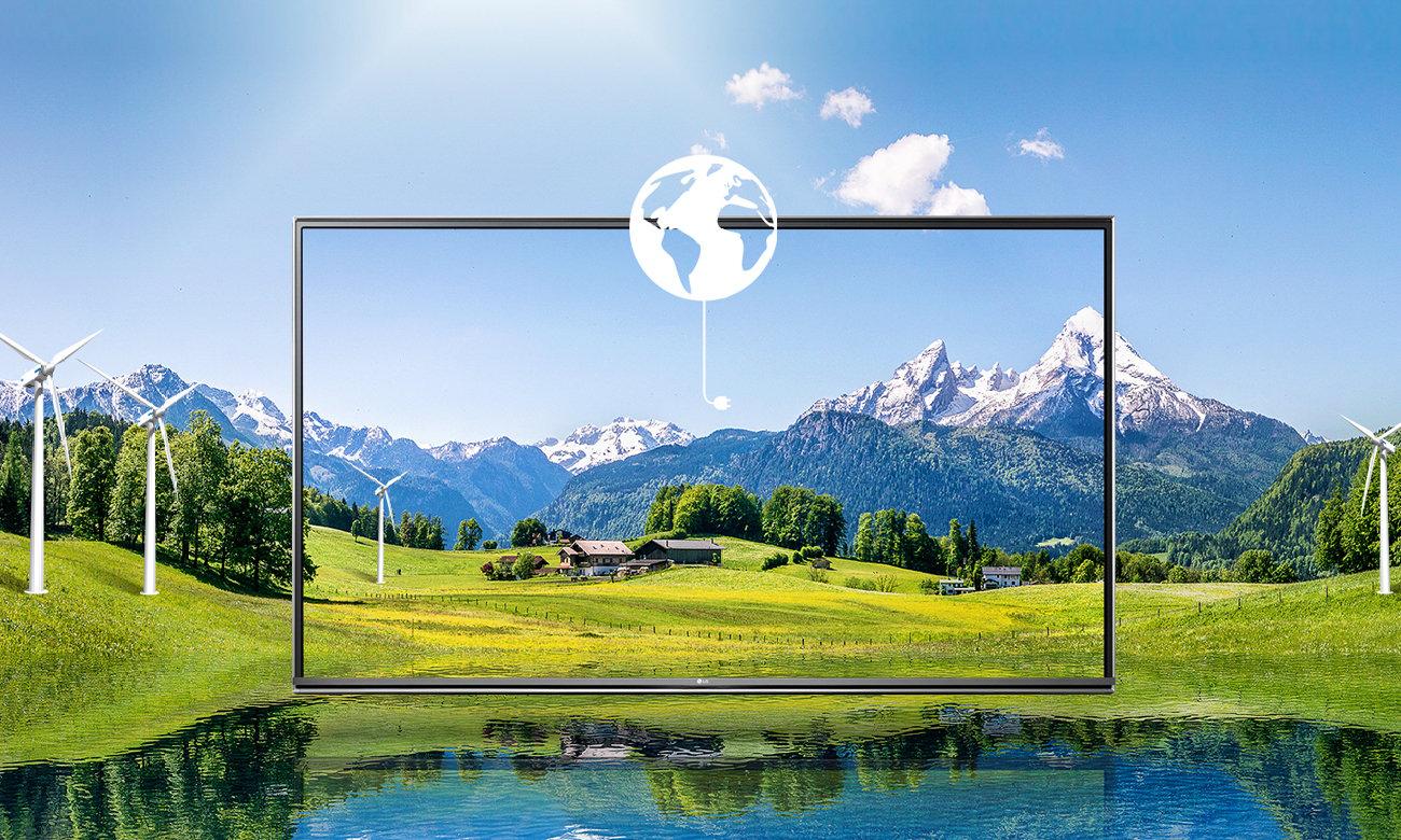 Energooszczędny telewizor LG 55UH605V
