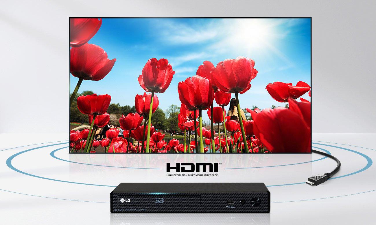 Telewizorz LG 32LJ500V ze złączem HDMI