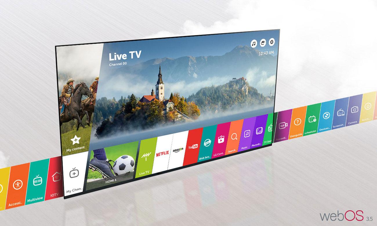 Telewizor LG 49LJ594V z systemem webOS 3.5
