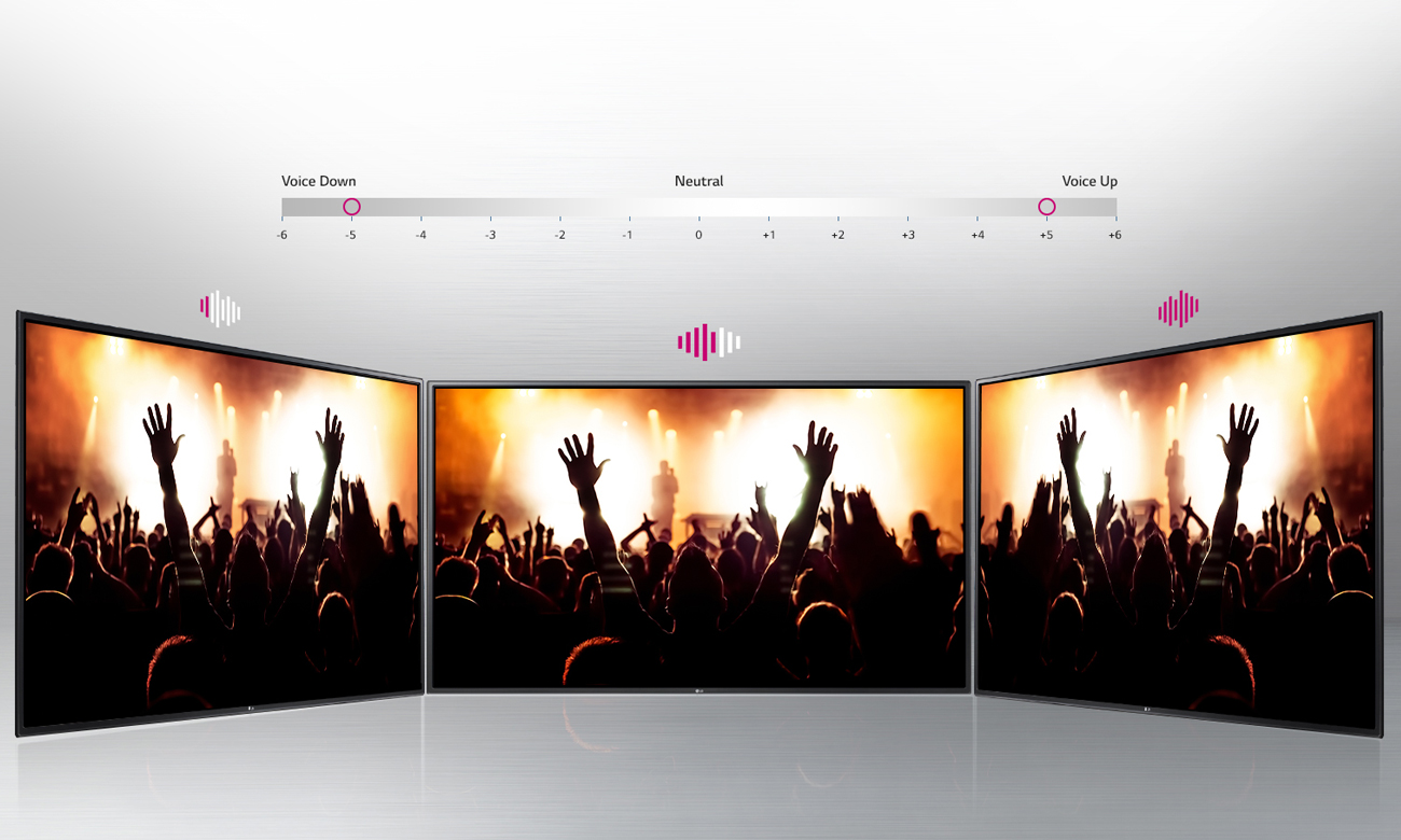 Clear Voice w telewizorze LG 55LH6047