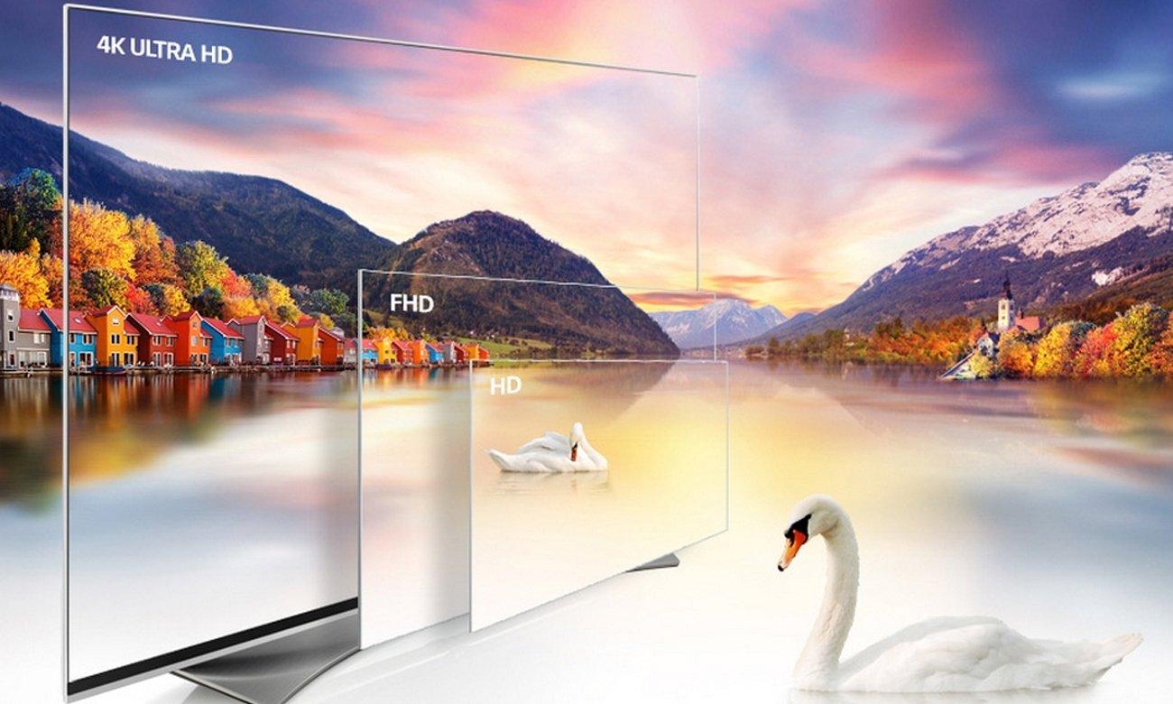 Telewizor Ultra HD LG 55UH605V 49 cali