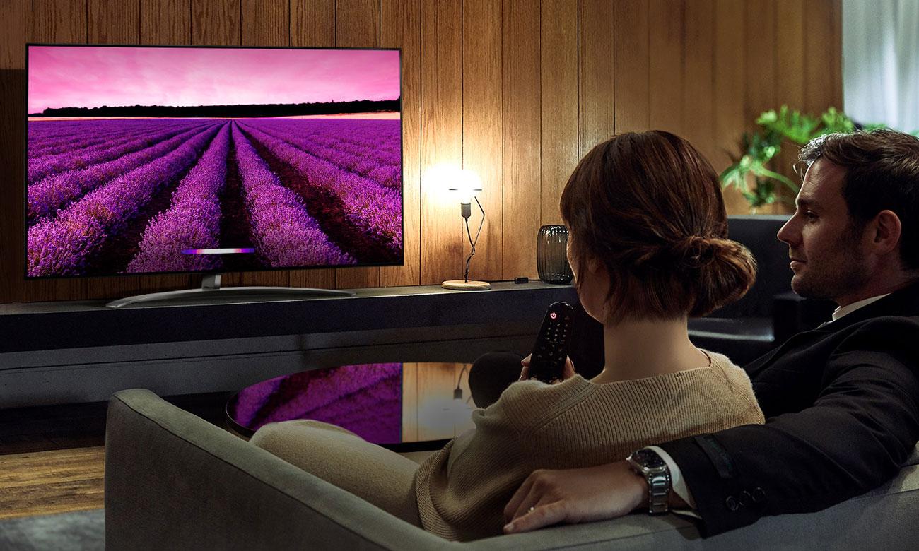 Sztuczna inteligencja w telewizorze LG 65SM8200 AI