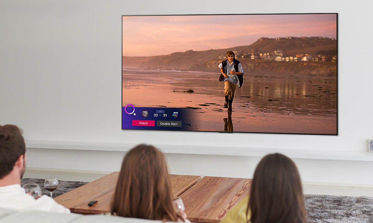 Sztuczna inteligencja w telewizorze LG 75UN85003 AI