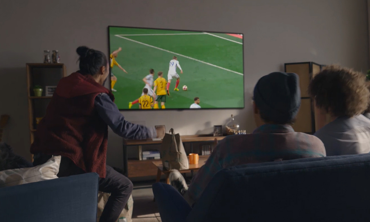Poczuj sie jak na stadionie z telewizorem LG OLED48A13LA