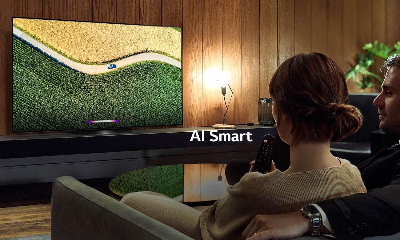 Sztuczna inteligencja w telewizorze LG OLED55B9 AI