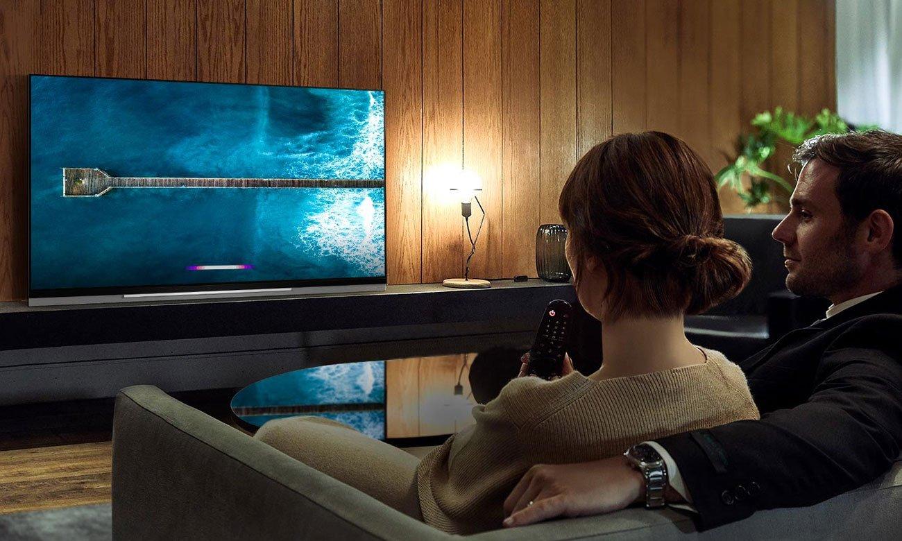 Sztuczna inteligencja w telewizorze LG OLED55E9 AI