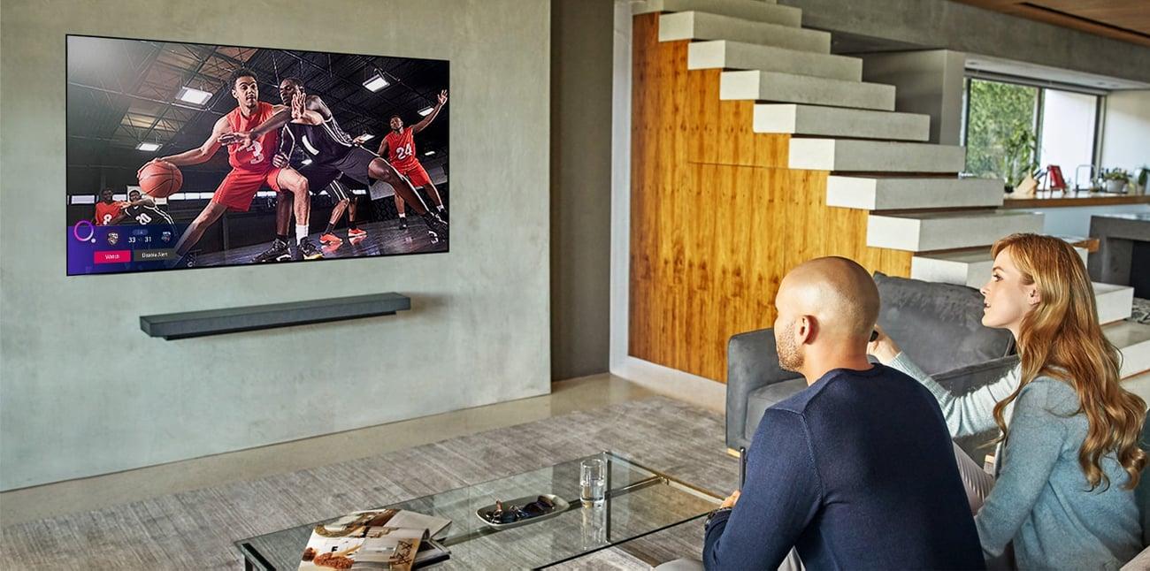 Poczuj sie jak na stadionie z telewizorem LG 65NANO913NA