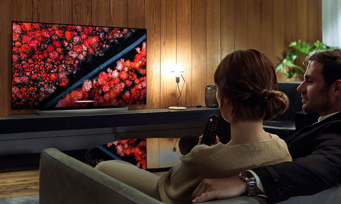 Sztuczna inteligencja w telewizorze LG OLED65C9 AI