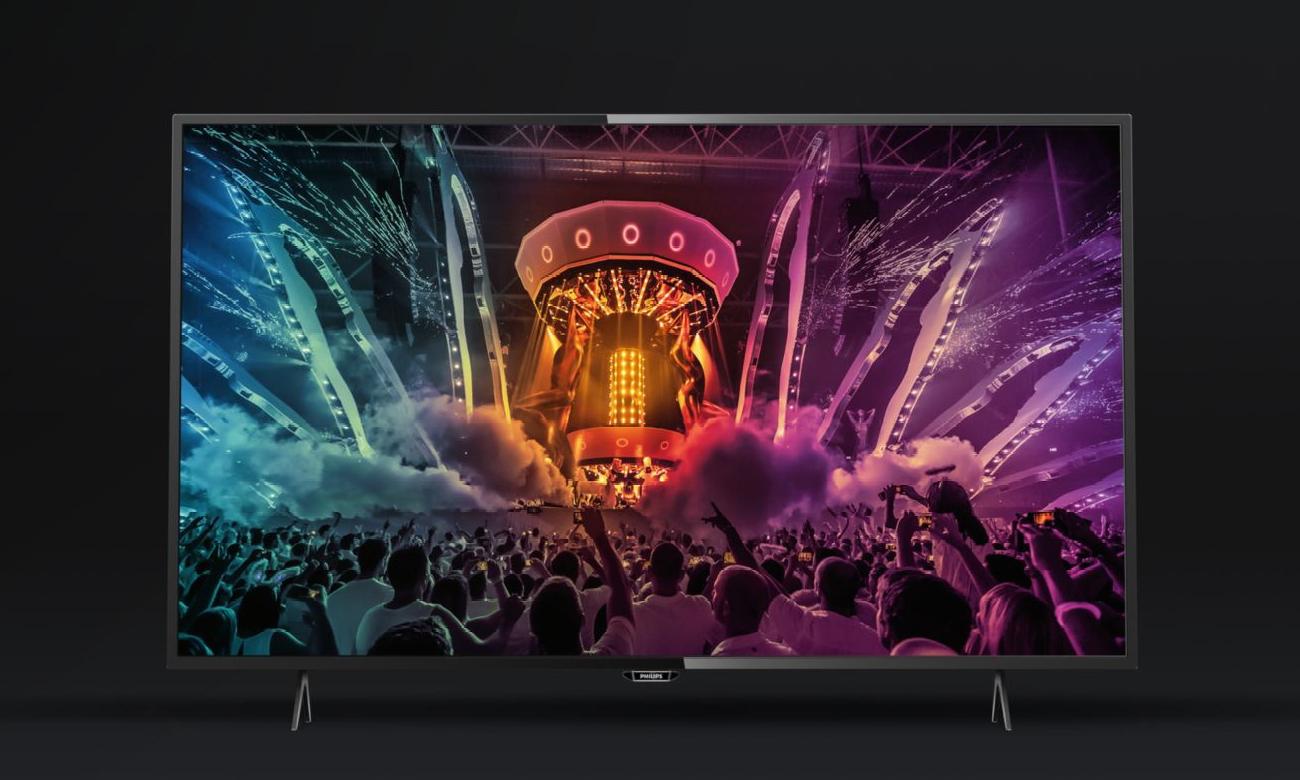 Smukły telewizor Philips 49PUS6101
