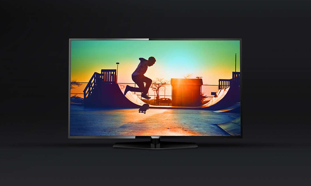 Elegancka konstrukcja telewizora Philips 50PUS6162