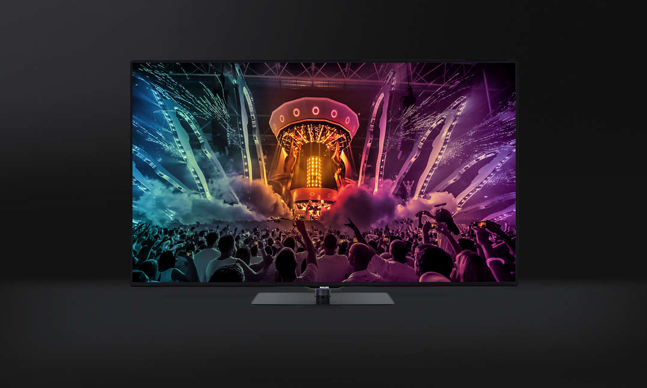 Smukły telewizor Philips 55PUS6031