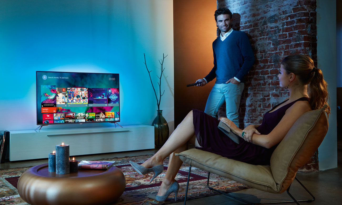 Telewizor Philips 49PUS7101 z platformą Android TV