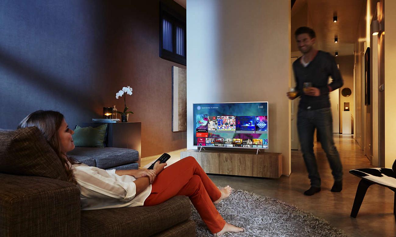 Łączność Wi-Fi w telewizorze Philips 55PUS6031
