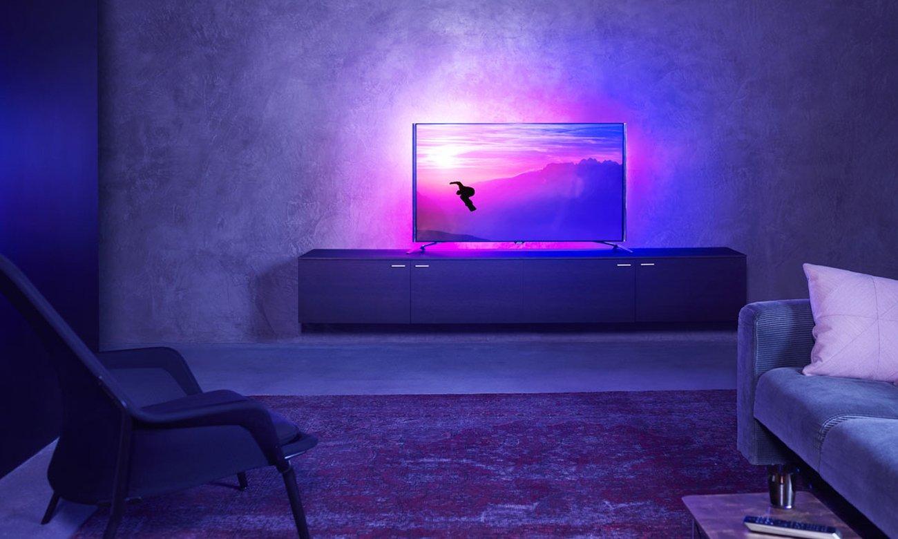 Funkcja optymalizacji kolorów w telewizorze Philips 55PUS6401