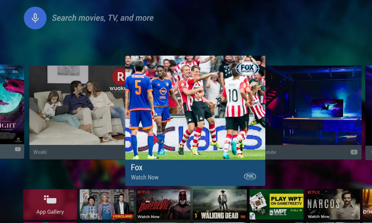 Telewizor Philips 55PUS6401 z platformą Android TV
