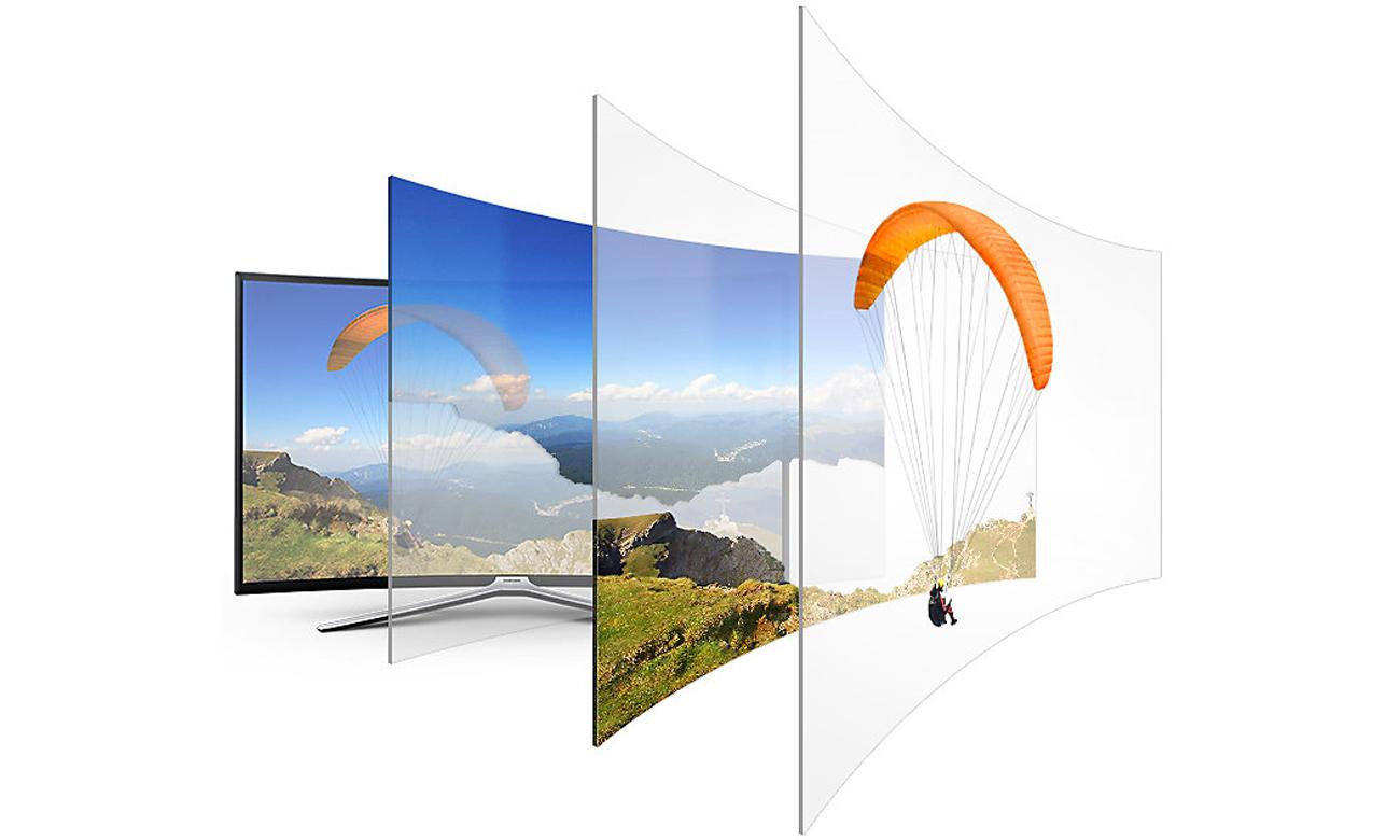 Funkcja Contrast Enhancer w tv Samsung UE55M6302