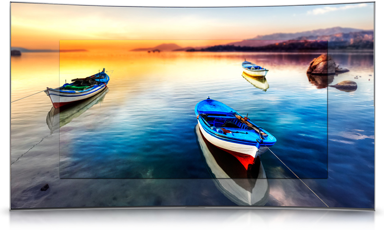 Funkcja Contrast Enhancer w tv Samsung UE40K5500