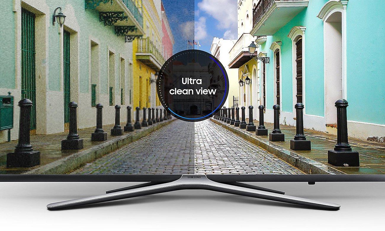 Technologia Ultra Clean View w telewizorze Samsung UE43M5502