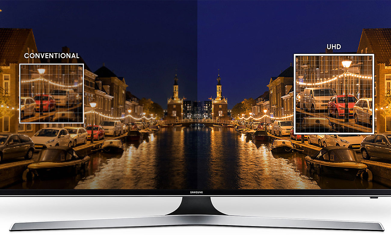 Technologia 4K w telewizorze Samsung UE43MU6102