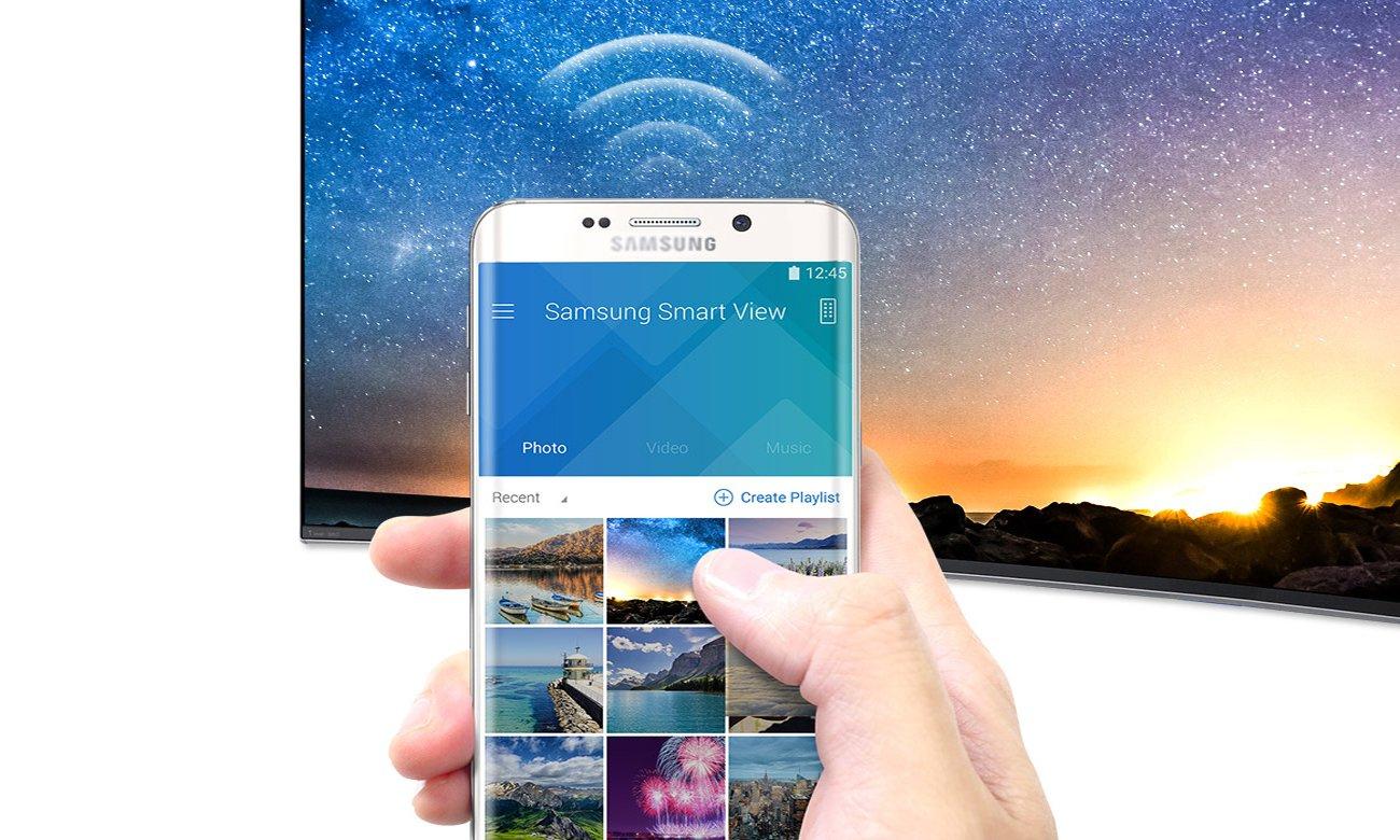 Łączność telewizora Samsung UE55K6300 z smartfonem