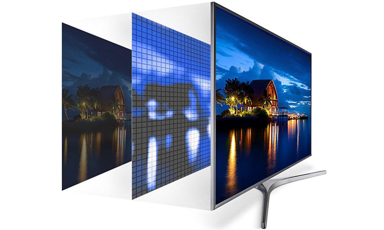 Technologia UHD Dimming w telewizorze Samsung UE55MU6102