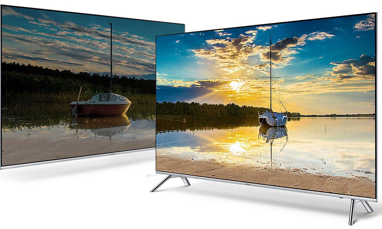Technologia HDR 1000 w telewizorze Samsung UE55MU7002
