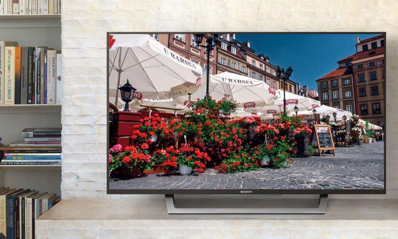 Technologia X-Reality PRO w telewizorze Sony KDL-49WD755