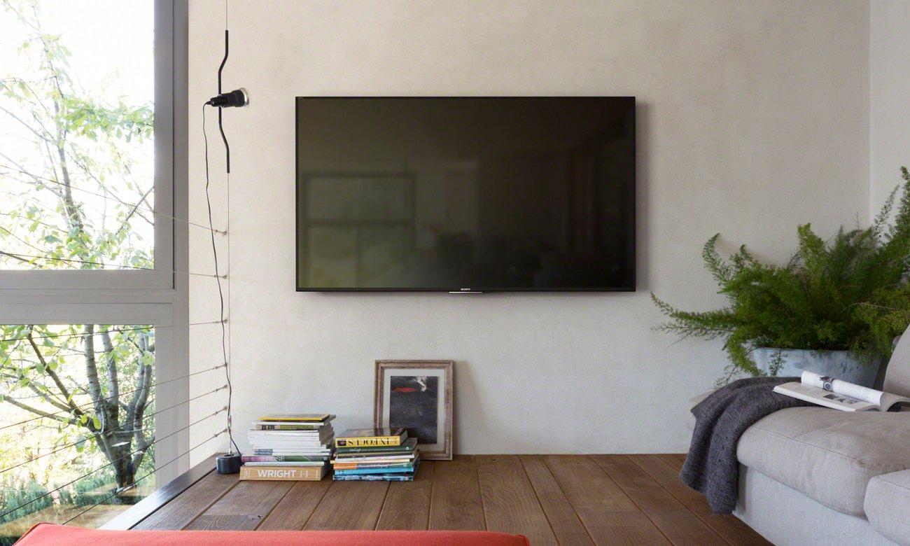 Smukły telewizor Sony KDL-55W809C