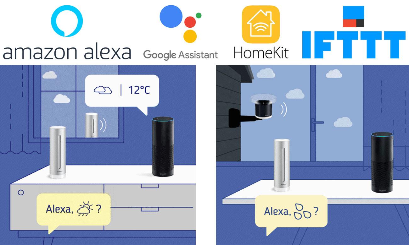 Netatmo Stacja pogodowa i Amazon Alexa