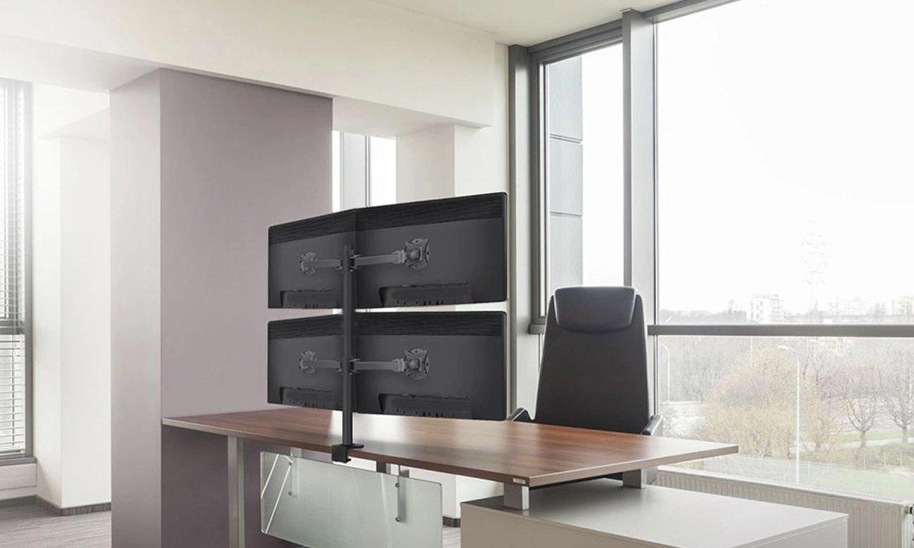 Uchwyt do 4 monitorów ART L-04X