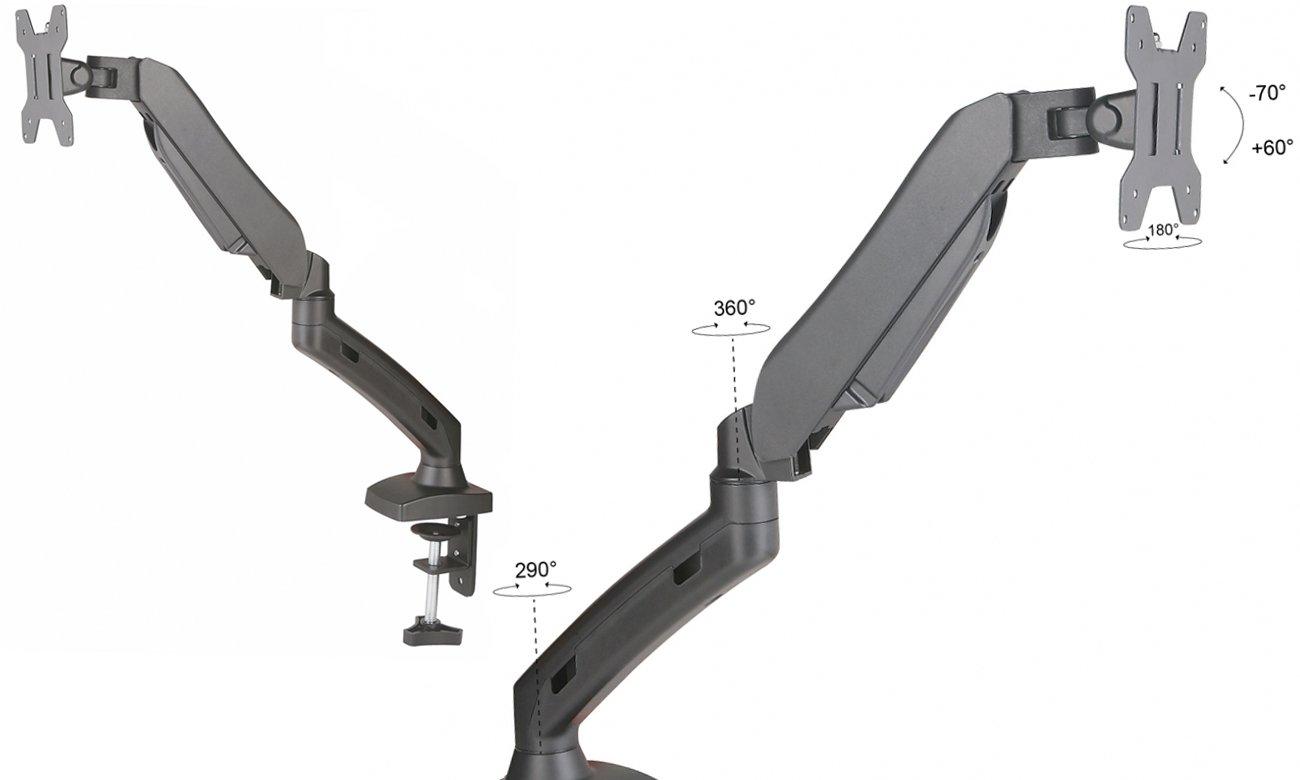 ART L-11GD mocowanie VESA