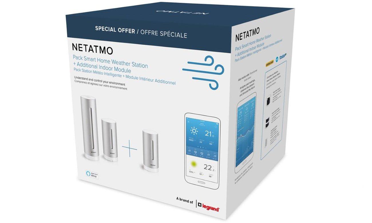 NetAtmo Weather Station Modulee i stacja pogodowa Weather Station