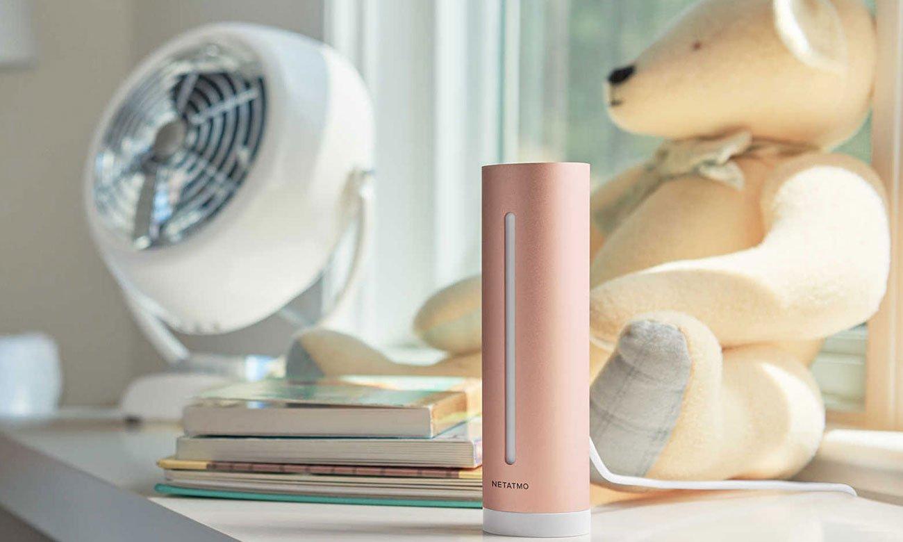Miernik jakości powietrza Netatmo HEALTHY HOME COACH NHC-EC
