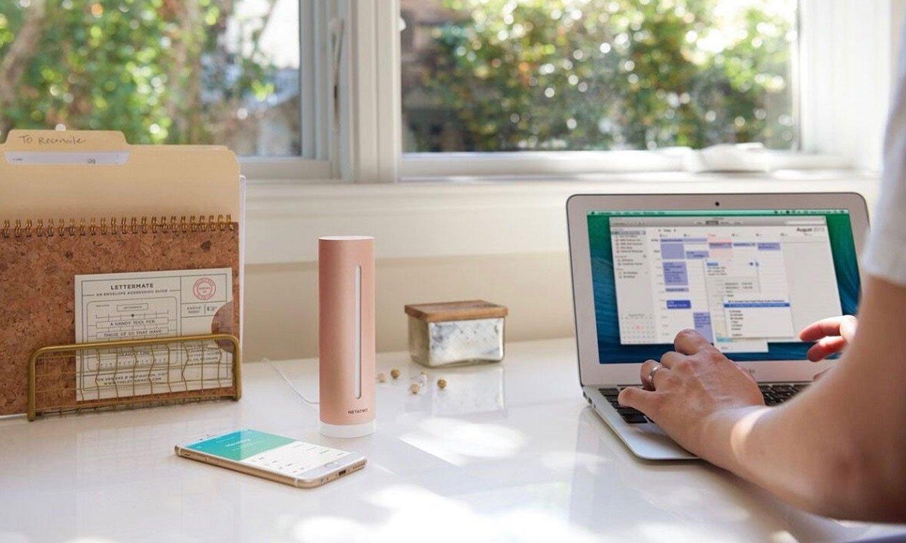 Netatmo HEALTHY HOME COACH wygoda użytkowania