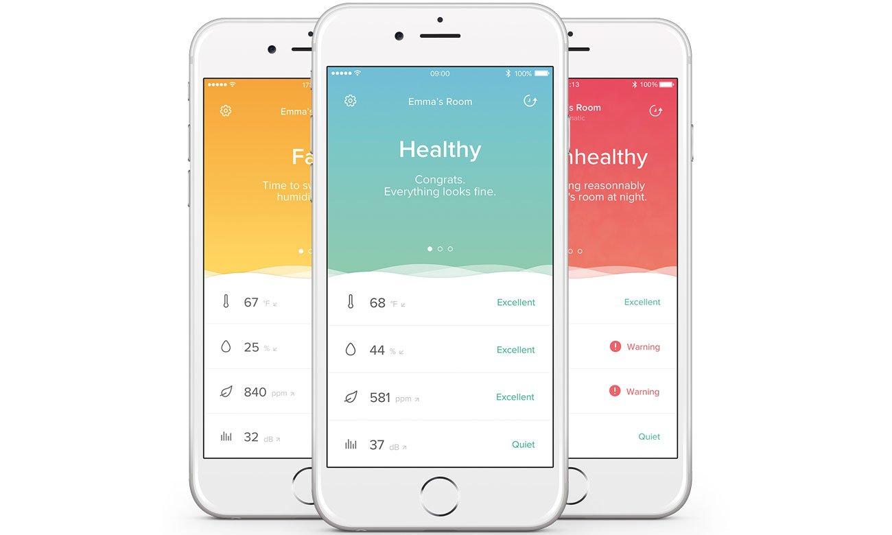 Aplikacja do Netatmo HEALTHY HOME COACH
